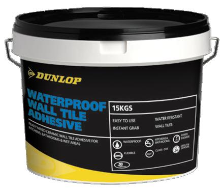 Dunlop Waterproof Tile Adhesive Bristol Tile Company