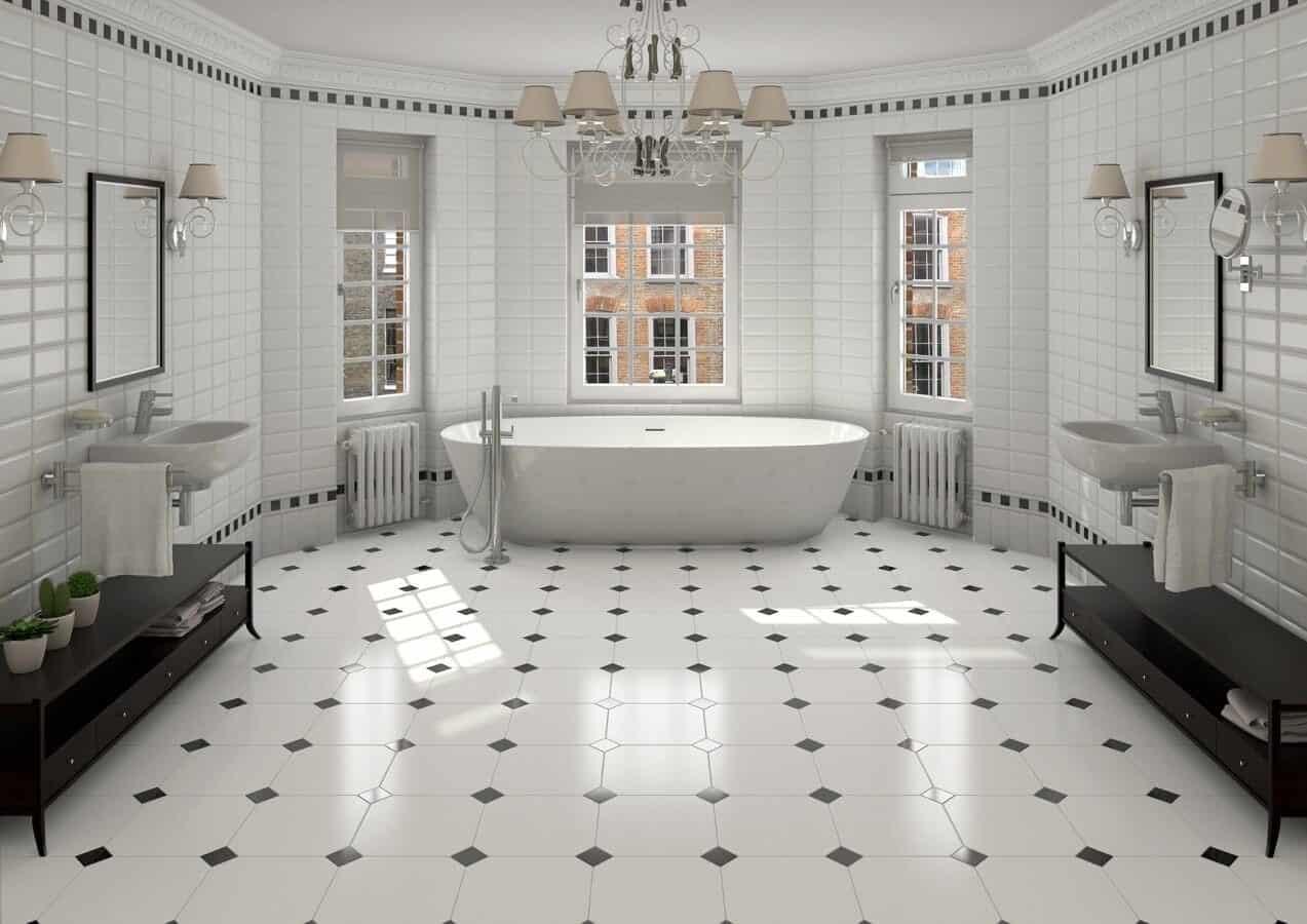 How do you make bathroom tiles shine? | Bristol Tile